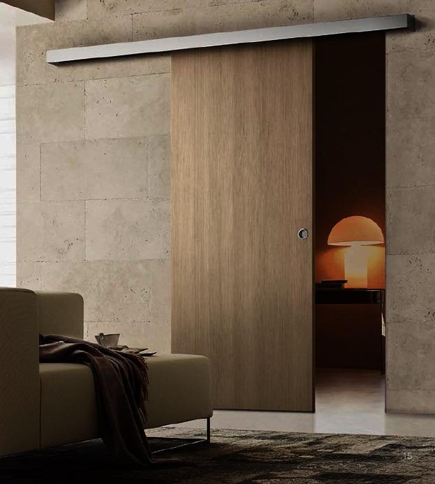 Porte da interno roma ciampino tuscolana for Finestra scorrevole esterno muro