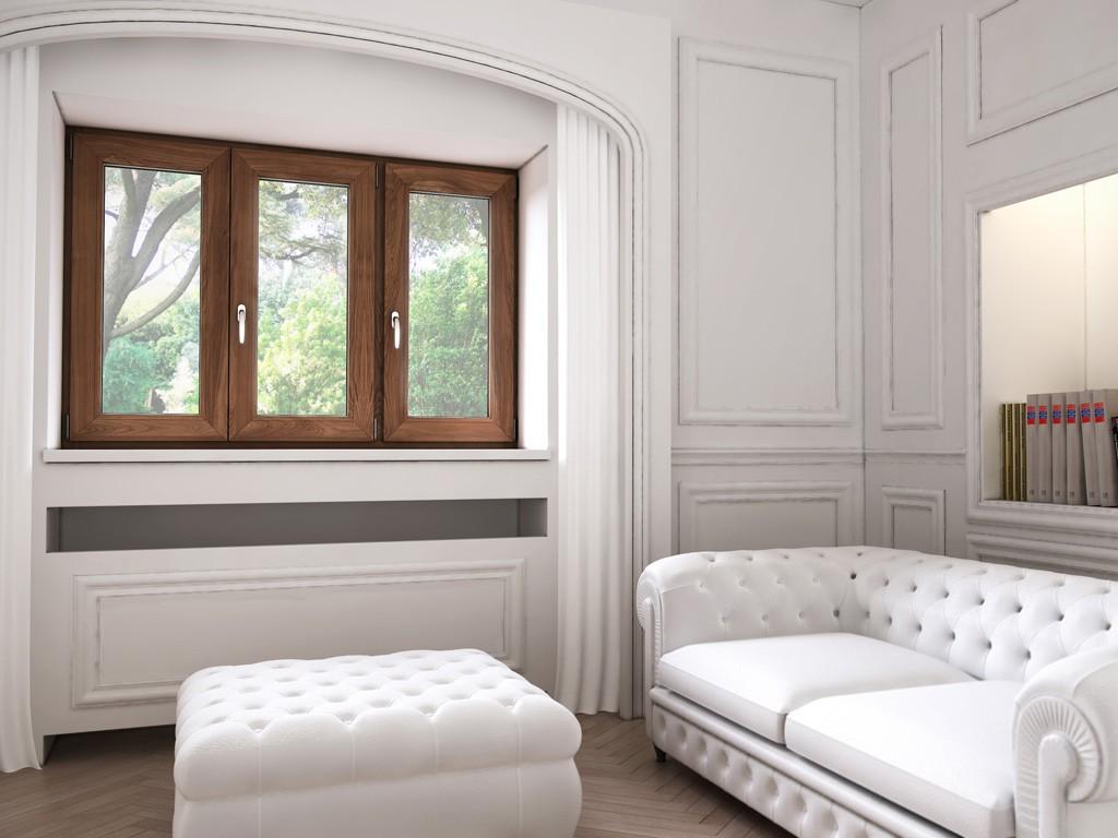 Infissi alluminio e legno roma for Infissi finestre